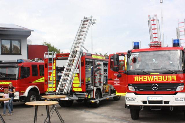 Brandschutz ist das Thema von Wita & Freude Sicherheitstechnik. Da werden auch schon mal ganze Löschfahrzeuge verkauft.