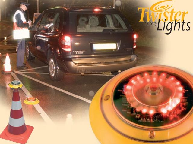 Twister-Lights® Die neue Generation - Optische Signalisierungs Systeme
