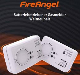 Der Gasmelder NG-9BT: Die Weltneuheit von FireAngel